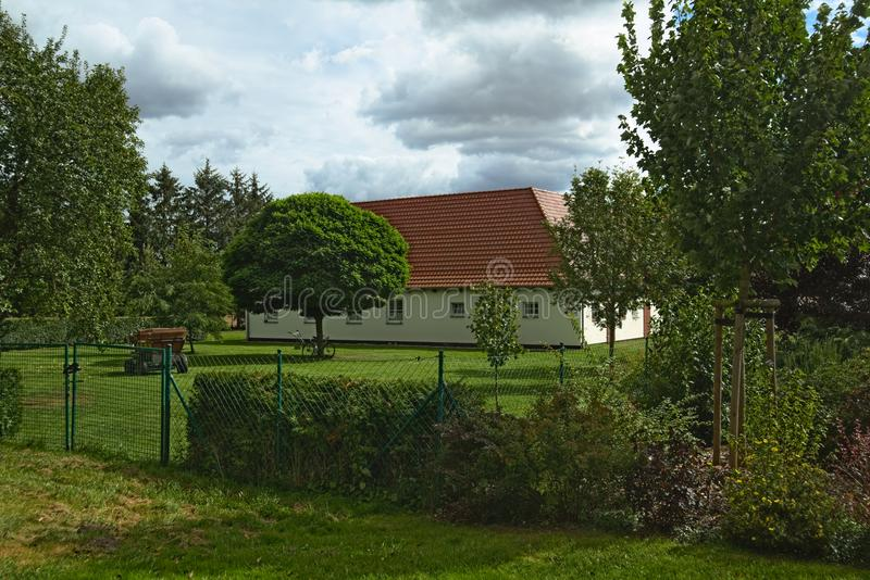 Download House Listed As Monuments In Kirchdorf, Mecklenburg-Vorpommern, Germany Stock Image - Image of house, germany: 103801579
