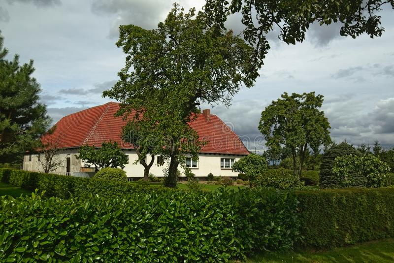 Download House Listed As Monuments In Kirchdorf, Mecklenburg-Vorpommern, Germany Stock Photo - Image of listed, outdoors: 103800434