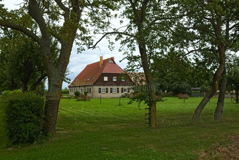 Download House Listed As Monuments In Kirchdorf, Mecklenburg-Vorpommern, Germany Stock Photo - Image of vorpommern, rural: 103802200