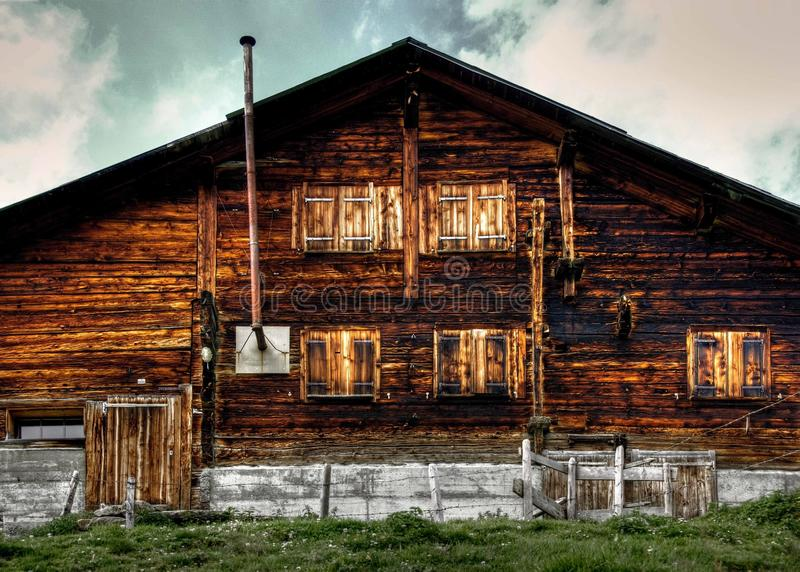 House, Log Cabin, Home, Wood royalty free stock photos