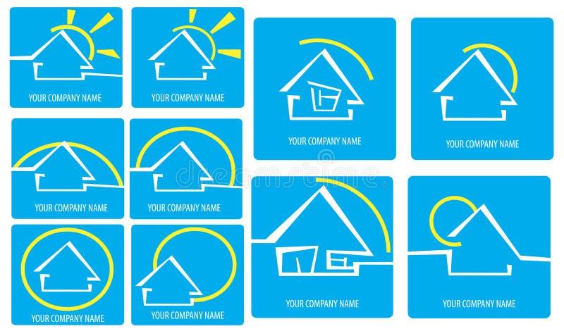 Download House logo stock vector. Image of door, illustrator, window - 14858380