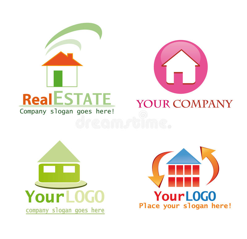 House logo design vector illustration