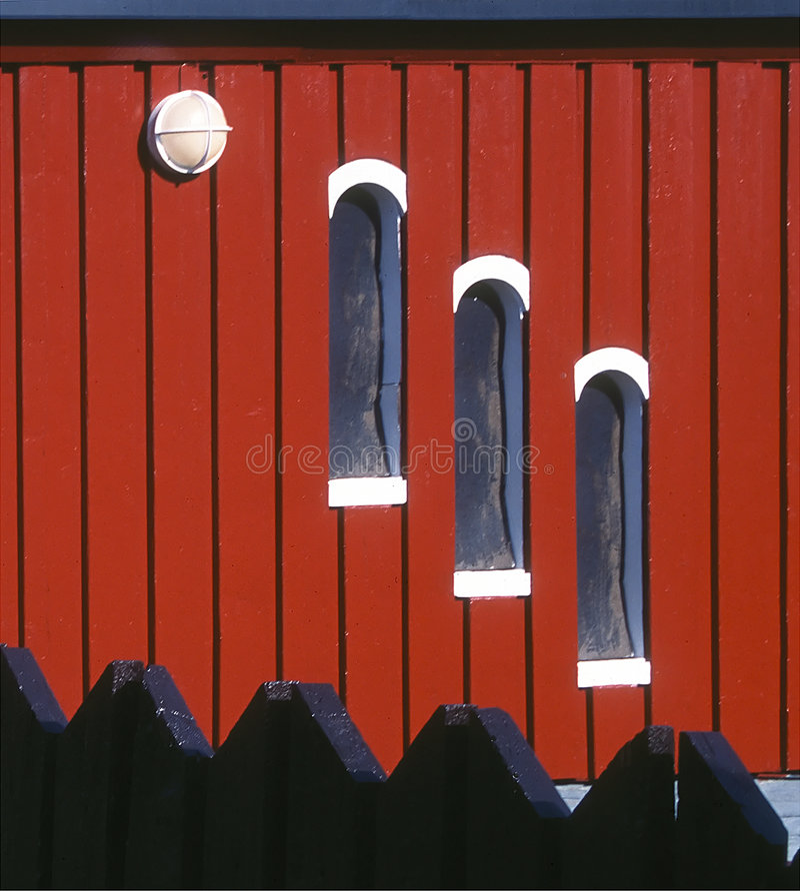 Download House At Longyearbin, Spitzbergen Stock Image - Image: 19599