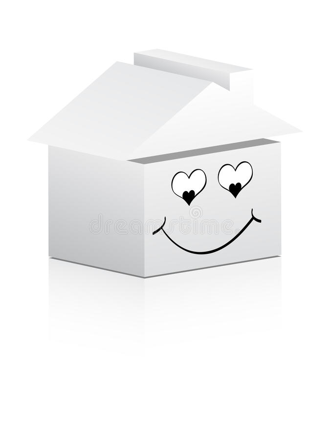 House In Love Stock Image
