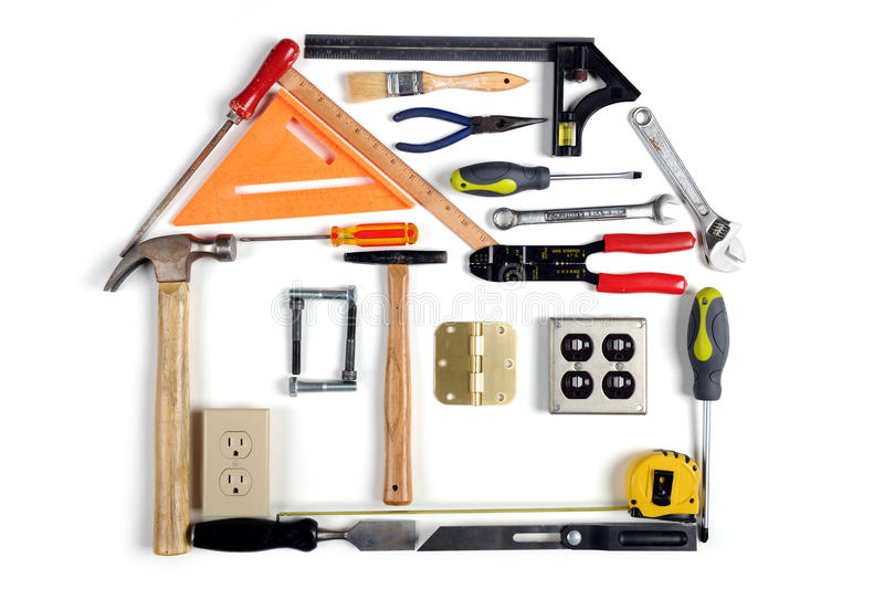 Download House Made of Tools stock photo. Image of industry, electrical - 14096590