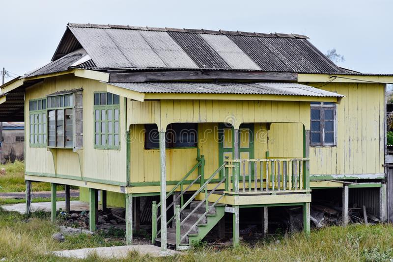 Simple Wooden Architecture East Coast Terengganu Editorial
