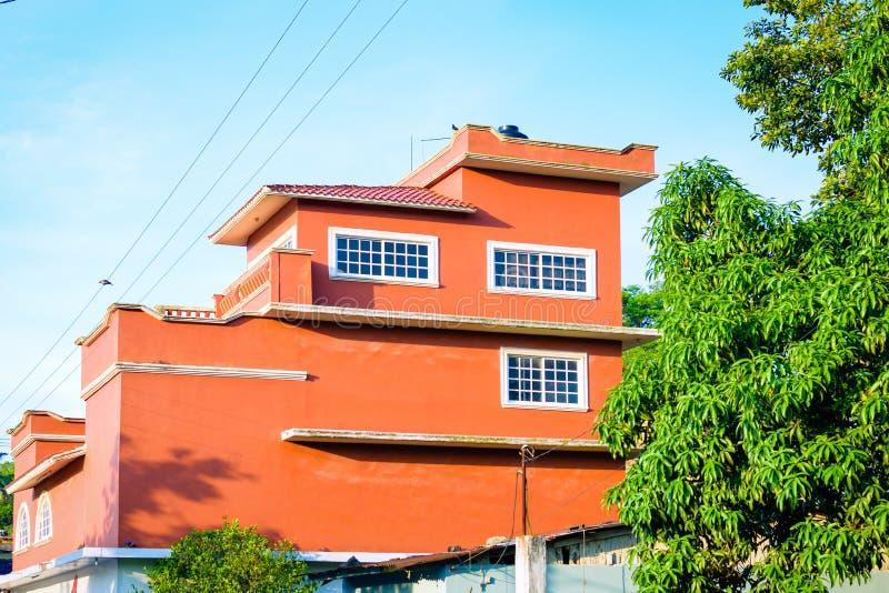 house mexikanen arkivbilder