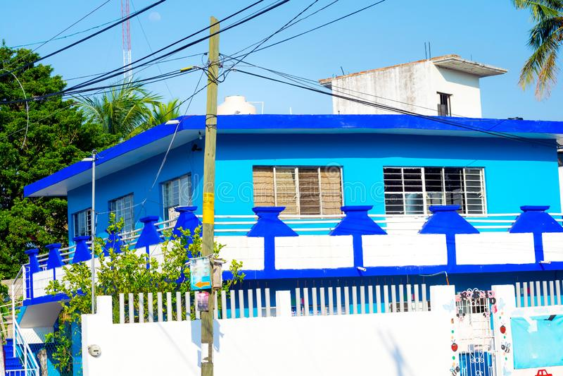 house mexikanen royaltyfria foton
