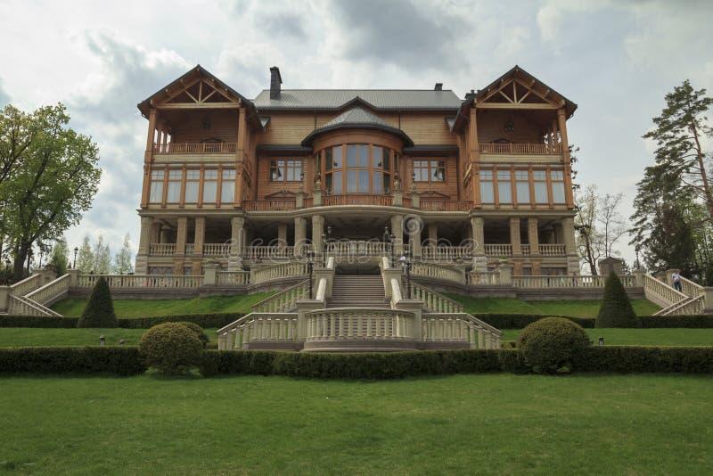 House in Mezhigorye stock photo