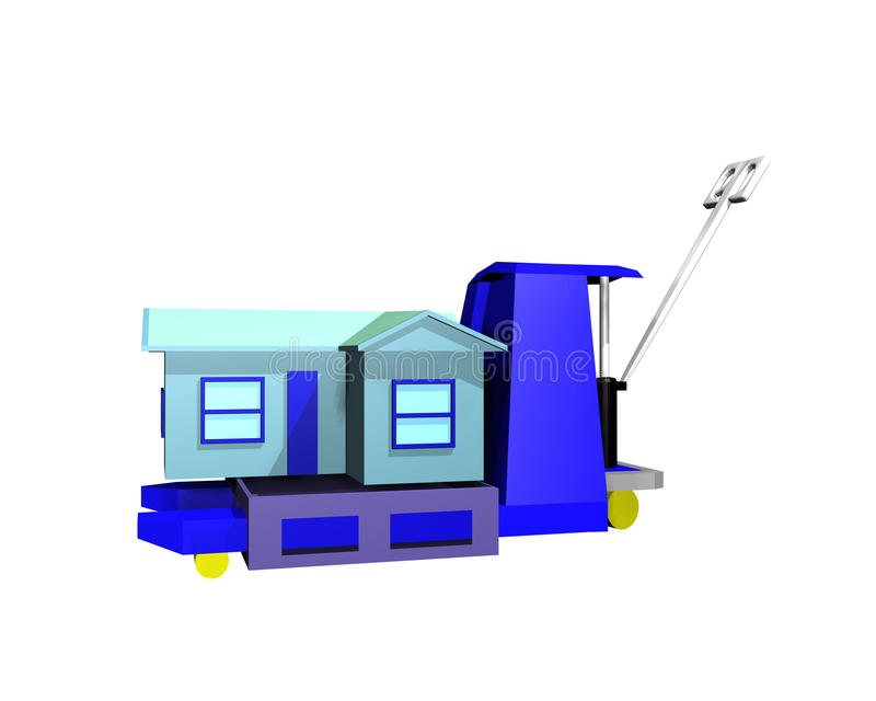 House Mobility Concept Stock Image
