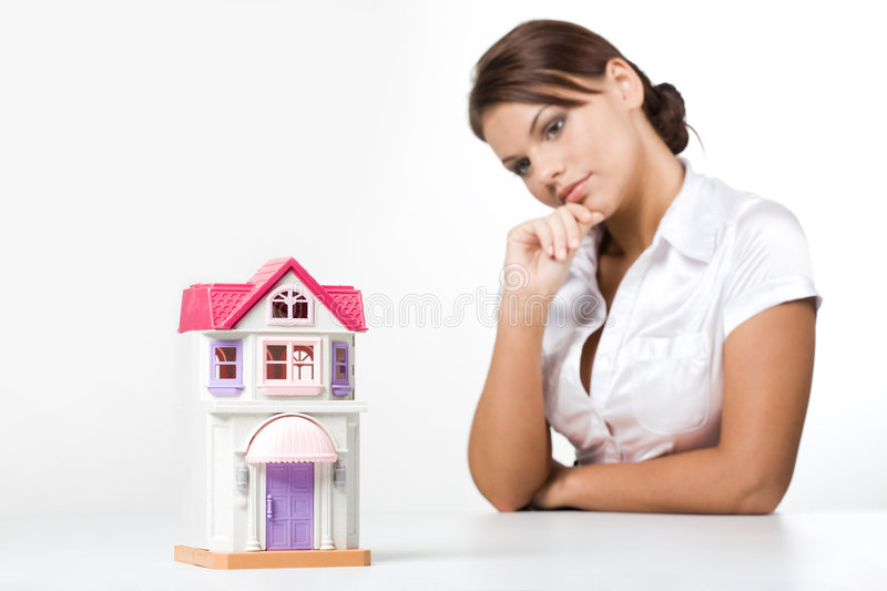 Download House model stock photo. Image of home, miniature, construct - 6583548