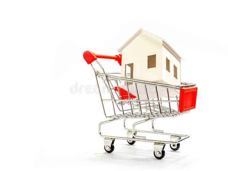 House model. In saving plan for residence royalty free stock photography