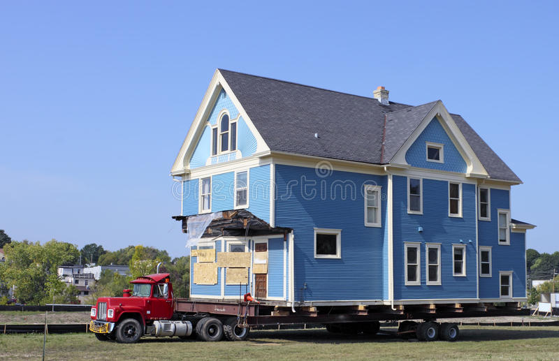 House Moving royalty free stock photos