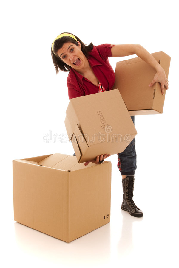 House moving stock photos