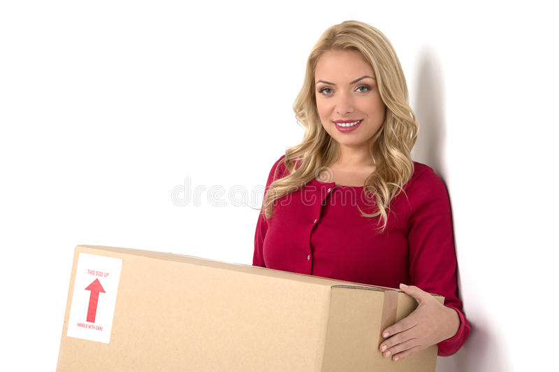 Download House moving. stock image. Image of packing, positivity - 33698377