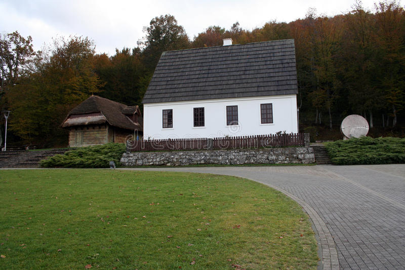 House of Nikola Tesla Croatia Smiljane royalty free stock photos