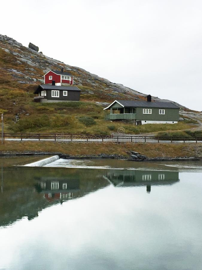 house Norway fotografia stock