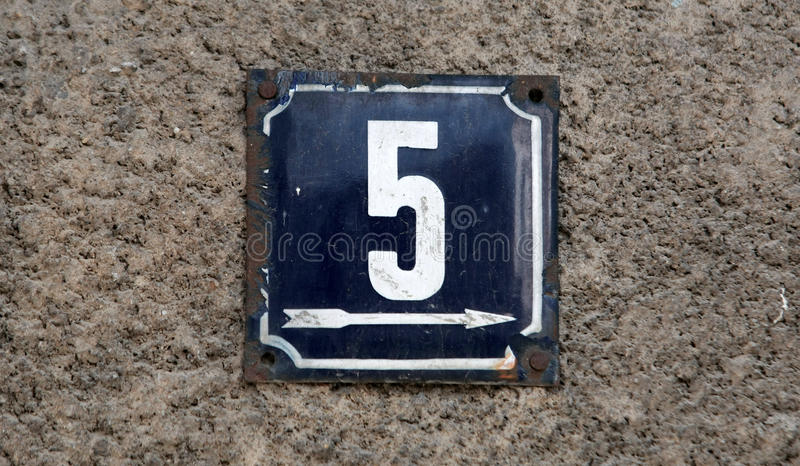 House numbers. In different styles and colors concept for real estate royalty free stock photos