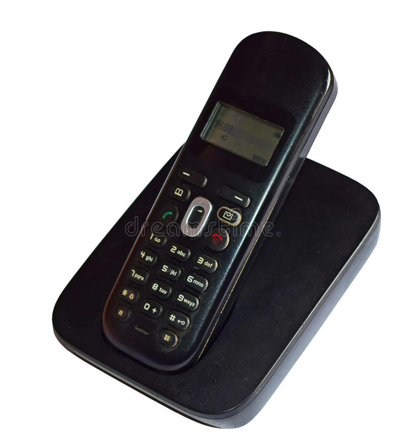 House Or Office Phone. Isolated With PNG File included stock image