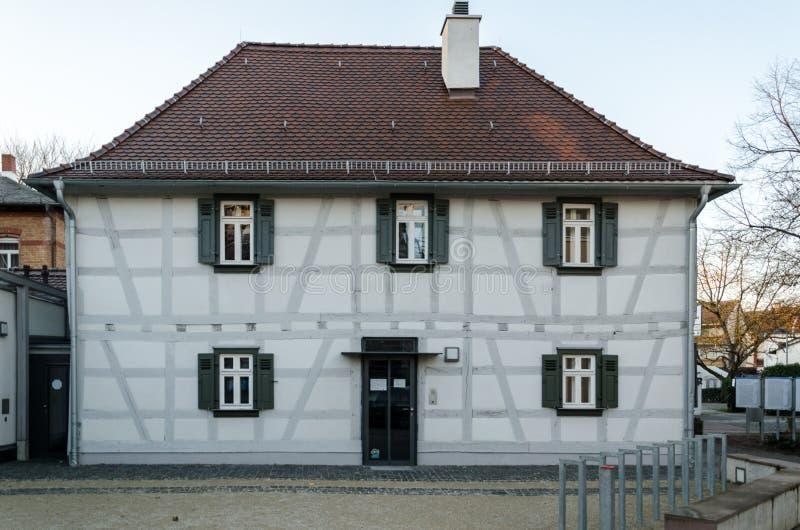 House. Old house located in Neu Isenburg, Germany stock image