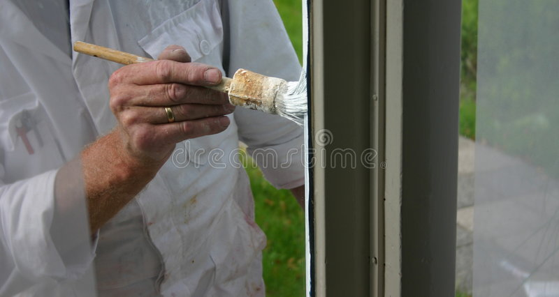 House painter royalty free stock photos