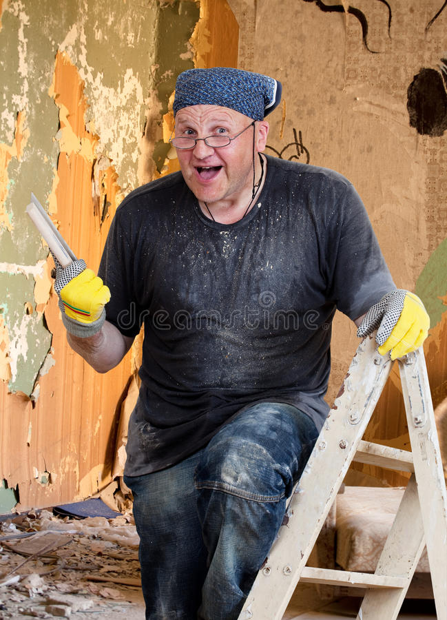 House Painter stock photos