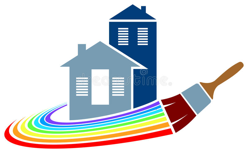 Download House Painting Logo Stock Vector. Illustration Of Exterior    31263536