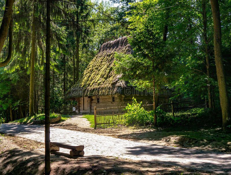 House in the Park Shevchenko stock image