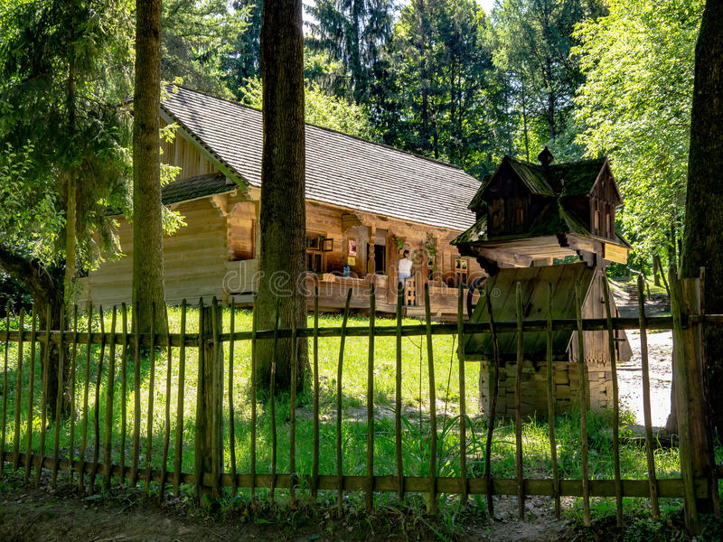 House in the Park Shevchenko stock images