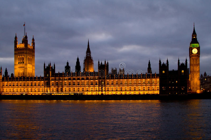 Download House of Parliament stock image. Image of dusk, english - 14156617