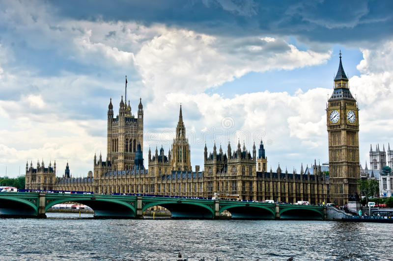 House of Parliament stock image