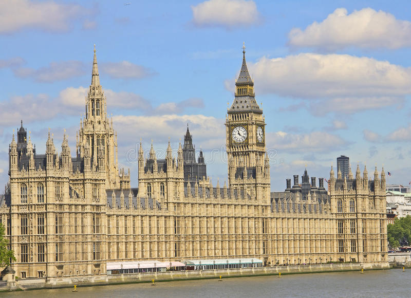 Download House of Parliament stock photo. Image of britain, clouds - 20231066