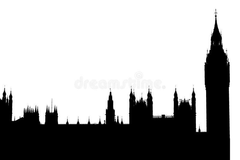 House of parliament. London United Kingdom vector illustration