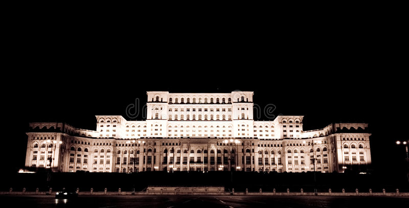 House of the people Romania royalty free stock photography