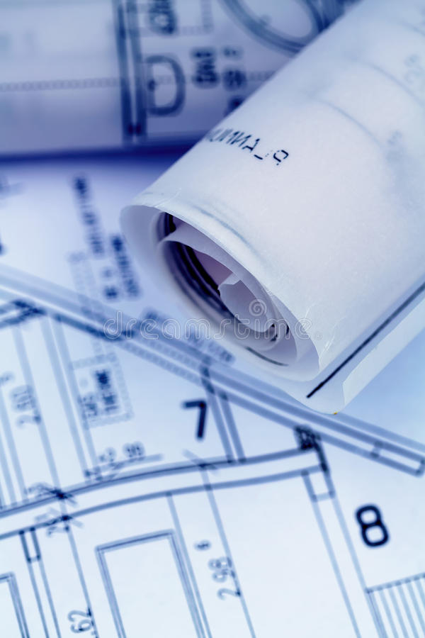 Download A house plan stock photo. Image of ground, financing - 39394158