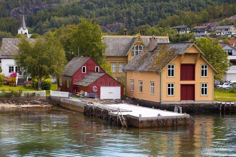 house po norwesku zdjęcie stock