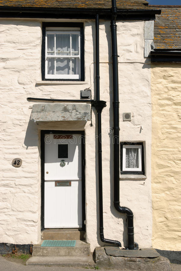 House In Port Isaac Stock Photo