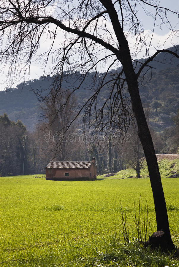 Download The House on the Prairie stock photo. Image of green - 14201110