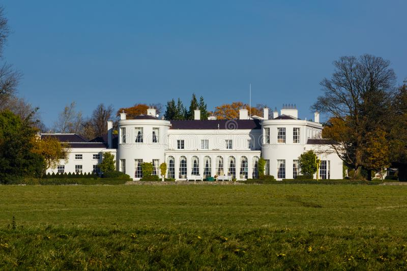 House of the president. Dublin. Ireland royalty free stock photos