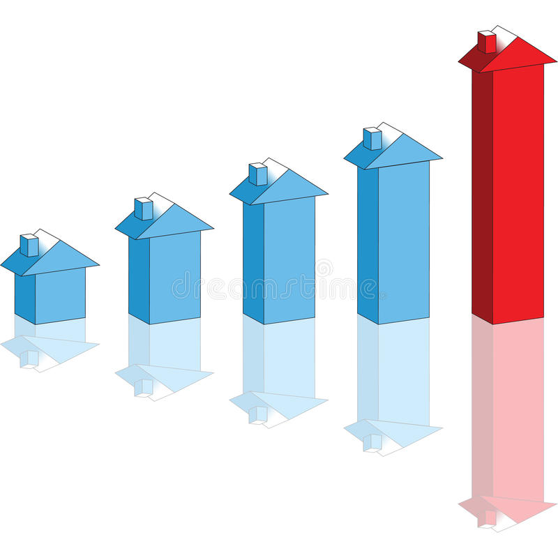 House prices vector illustration