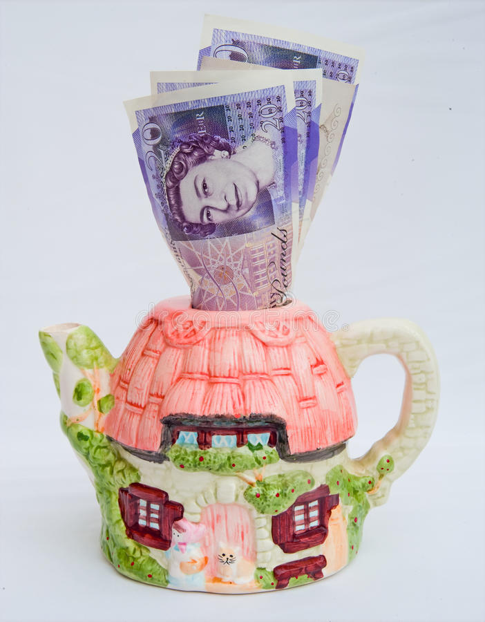 House prices rising again. royalty free stock photo