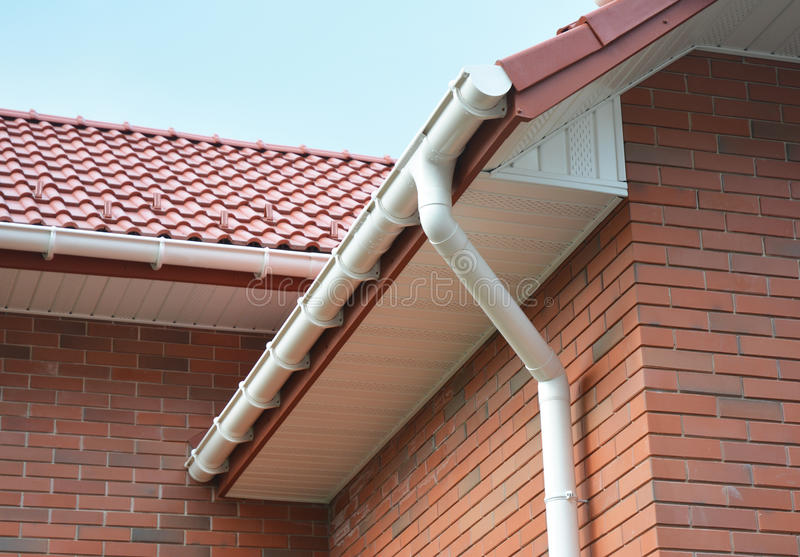 House Problem Areas For Rain Gutter Waterproofing Outdoor