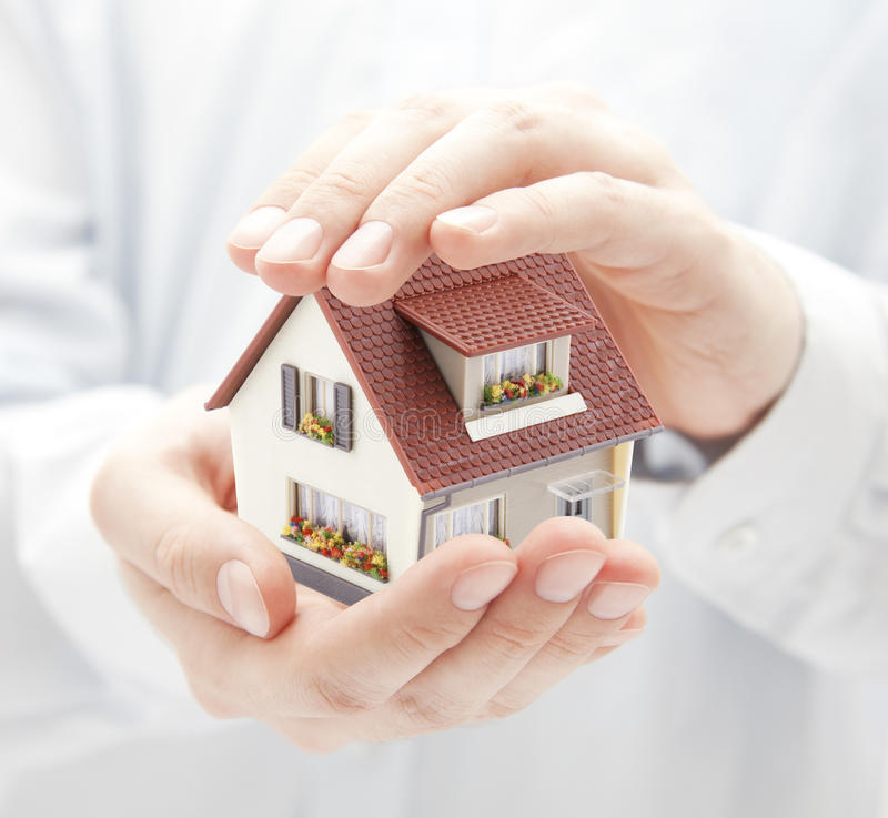 House protection royalty free stock photo