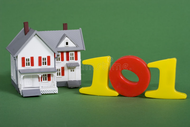 House purchasing 101 stock images