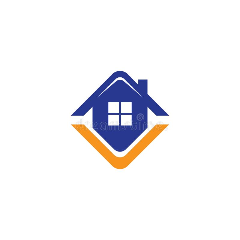 House Real Estate Business logo royalty free stock images