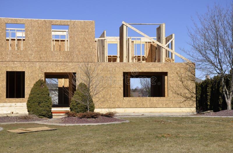 House rebuild royalty free stock photo