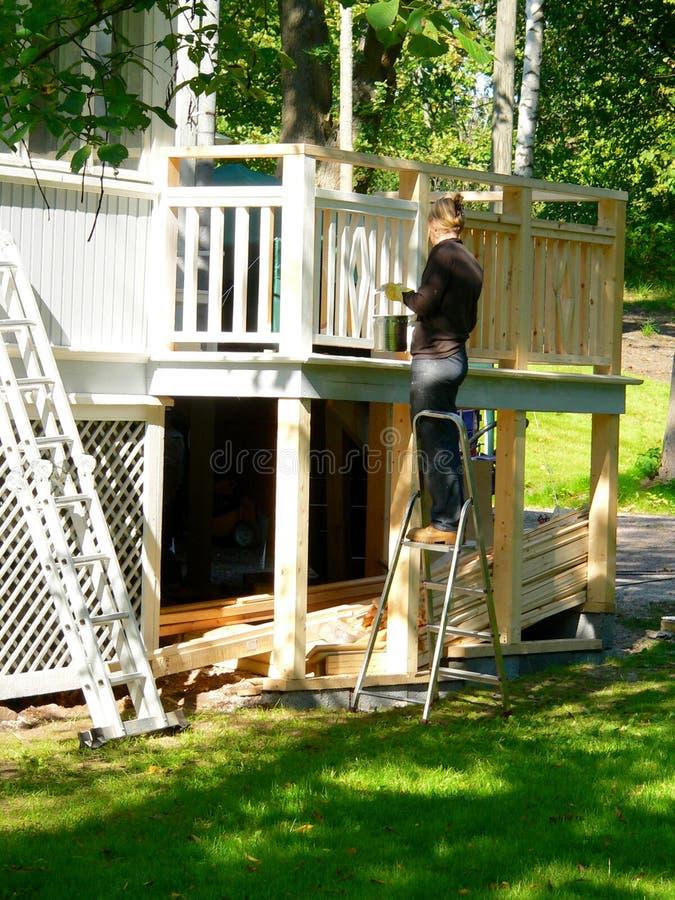 House renovating royalty free stock photography