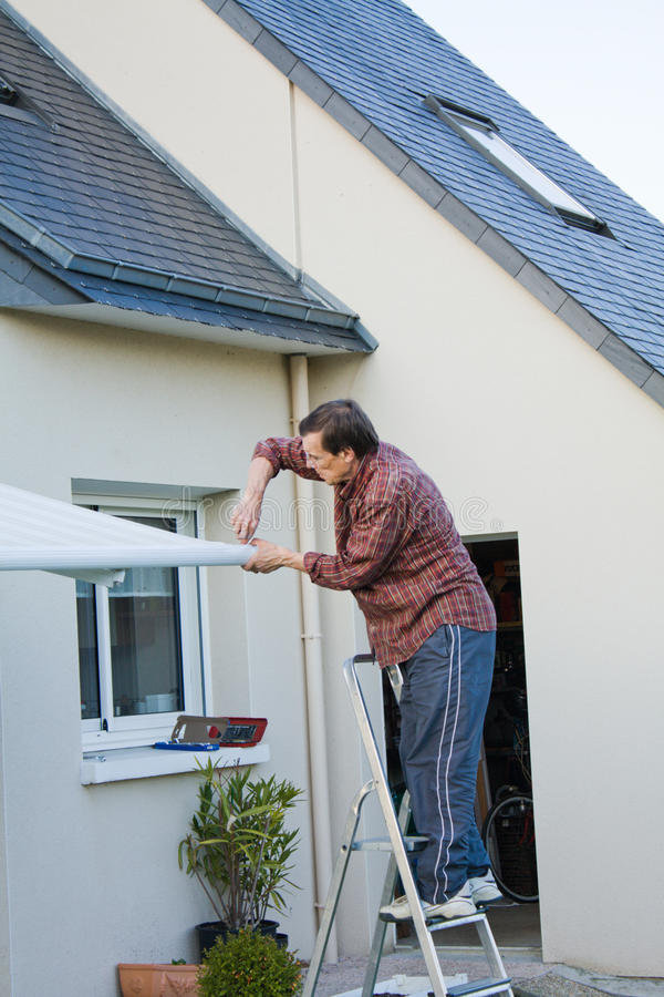 House repair royalty free stock photos