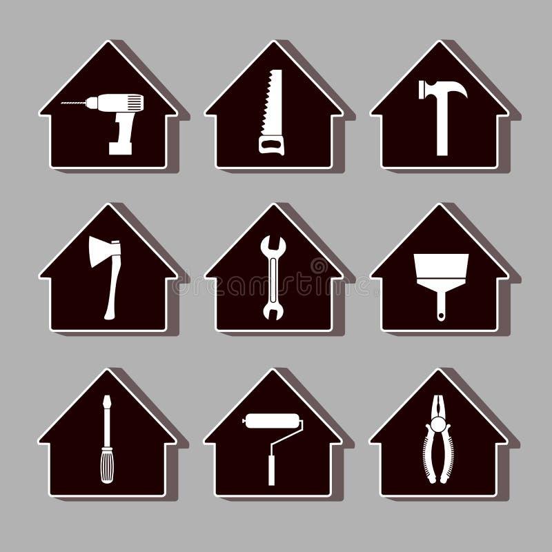 House_repair2 ilustración del vector
