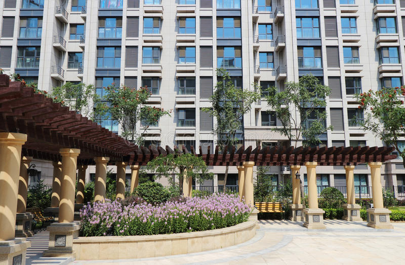 House,Residential area,Beijing,China stock photo